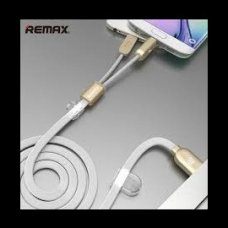 2 in 1 MicroUSB kabel REMAX bílý